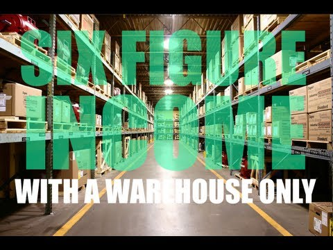 , title : 'Six Figure Income With A Warehouse Only? Yes It Can be done without a store!