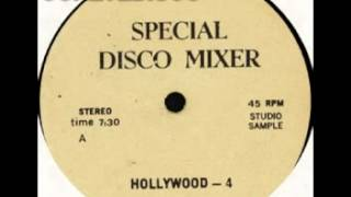HOLLYWOOD 4 side A (1980) SPECIAL DISCO MIXER MEDLEY