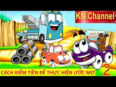 CÁCH KIẾM TIỀN ĐỂ THỰC HIỆN ƯỚC MƠ TRONG THẾ GIỚI XE ĐUA TẬP 2 | Trò chơi KN Channel giáo dục trẻ em
