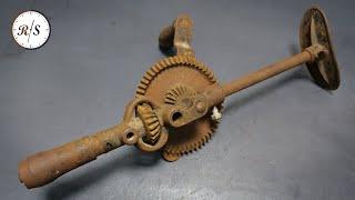 Реставрация ручной дрели