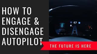 How to engage & disengage Autopilot on a Model X