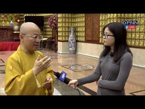 Thầy Nhật Từ trả lời phỏng vấn Đài truyền hình TPHCM - 03-2018