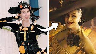 RESIDENT EVIL VILLAGE - Lady Dimitrescu Motion Capture Behind the Scenes