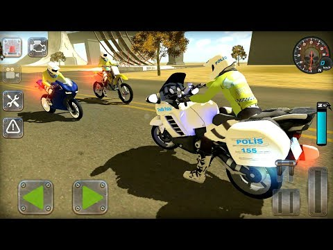 Traffic Police Motorbike Simulator (by TKS Games) - Android Gameplay FHD