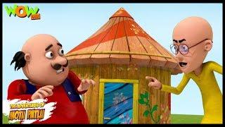 Motu Patlu New Episode | Cartoons | Kids TV Shows | Motu Ke Pappa Ka Bungalow | Wow Kidz