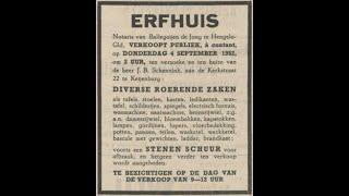 Herman van Velzen verhalen – Deel 5:  'Het erfhuis' met inboedelverkoop: Marktplaats, maar dan anders.