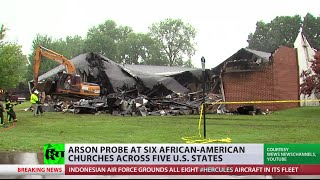 Hate Crimes? Arson linked to recent attacks on African-American churches