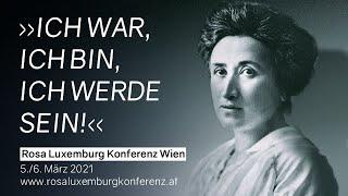 Eröffnung der III. Rosa Luxemburg Konferenz in Österreich
