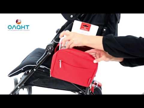 Maclaren универсальная сумочка для мамы боковая Pannier Black