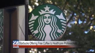 Starbucks Offering Free Coffee to Healthcare Professionals