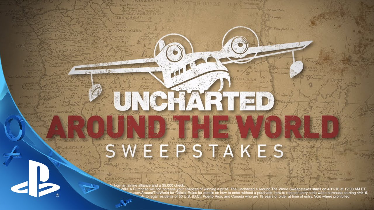 Your Chance to Win a Trip for Two Around the World with Uncharted 4