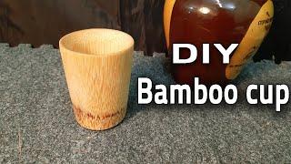 Make Bamboo Cups natural and environmentally friendly - Bamboo craft