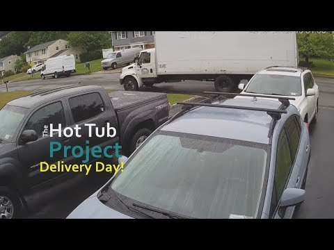 The Hot Tub Part 2. Essential Hot Tubs 20 Jet. Delivery and Setup