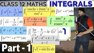 7(A) || NCERT Chapter 7 Integrals Calculus Class 12 Maths
