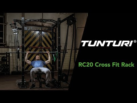 Promovideo: Posilovací klec Cross Fit Rack TUNTURI RC20