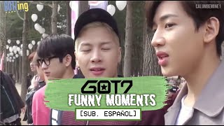 GOT7 Funny Moments 2 (Sub. Español)