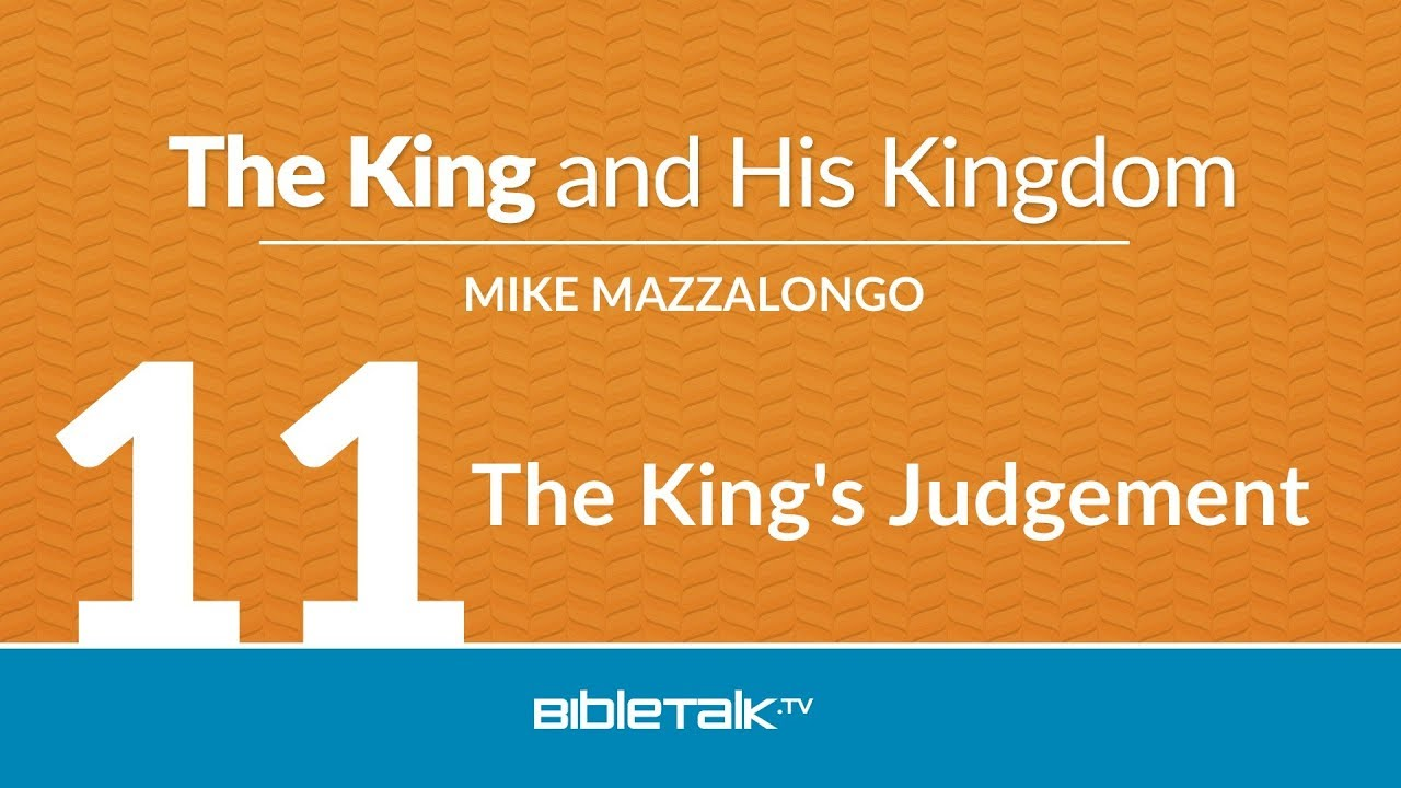 11. The King's Judgement