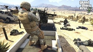 GOING TO WAR IN GTA 5!!! JOINING THE ARMY (GTA 5 Mods)