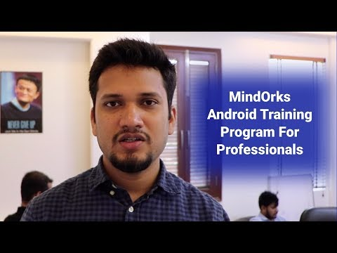 Android Training Program for Professionals - MindOrks Android ...
