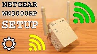 NETGEAR WN3000RP Wi-Fi Extender • Unboxing, installation, configuration, test