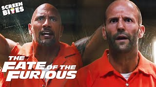 ''I Will Beat Your Ass Like A Cherokee Drum'' | The Fate Of The Furious | SceneScreen