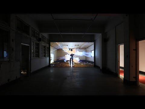 「犬儒共和國:2001」空總展出現場