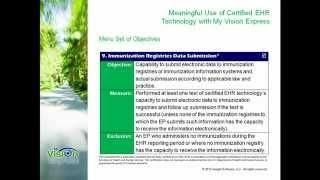 Menu 9. Immunization Registries Data Submission