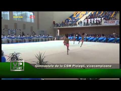 Gimnastele de la CSM Ploieşti, vicecampioane naţionale!