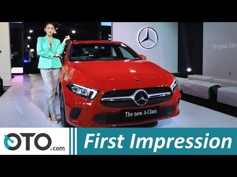 Mercedes Benz A-class, CLS-Class dan V-Class 2018 | First Impression | OTO.com