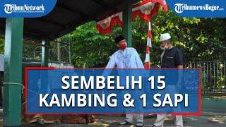 Kodim 0606/Kota Bogor Sembelih Hewan Kurban, 15 Kambing dan Satu Sapi