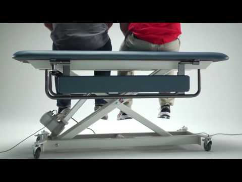 Armedica Hi-Lo Changing Table in Action