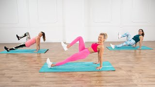40-Minute No-Equipment Cardio and Sculpting Workout