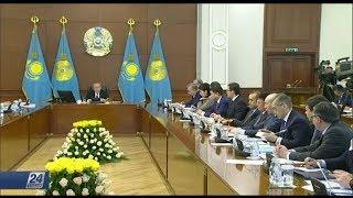 Полная версия заседания Правительства с участием Н.Назарбаева