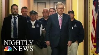 McConnell Meets 9/11 First Responders After Public Feud With Jon Stewart | NBC Nightly News