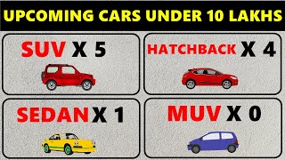 10 Upcoming cars under 10 lakhs in india 2020 | 10 new cars coming to india 2020 | ASY