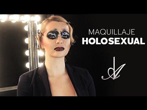 Maquillaje Holosexual - Alberto Dugarte