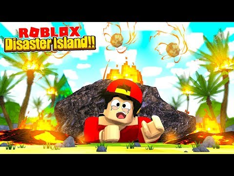 ROBLOX - DISASTER ISLAND, ITS THE END OF THE WORLD!!