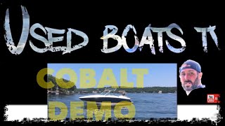 2009 Cobalt 262 On Water Demo - Cobalt Boat Review