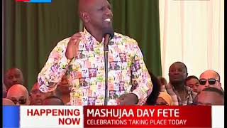 DP Ruto's speech during the Mashujaa Day celebrations in Mombasa