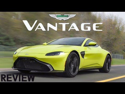 2019 Aston Martin Vantage Review - Fast, Loud, And Green