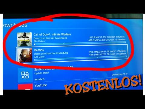 PS4 Spiele im Store Gratis bekommen! - Glitch (NEU 2017!)
