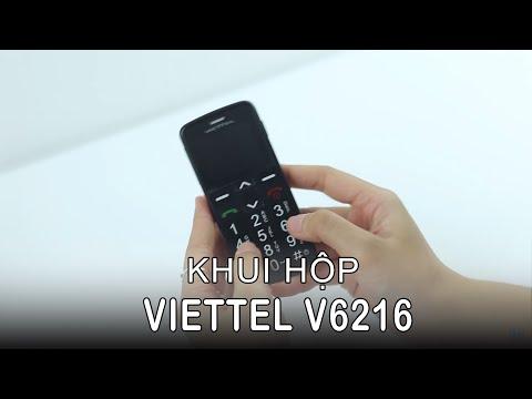 HoangHaMobile Mở hộp Viettel V6216 hỗ trợ SOS cho người già