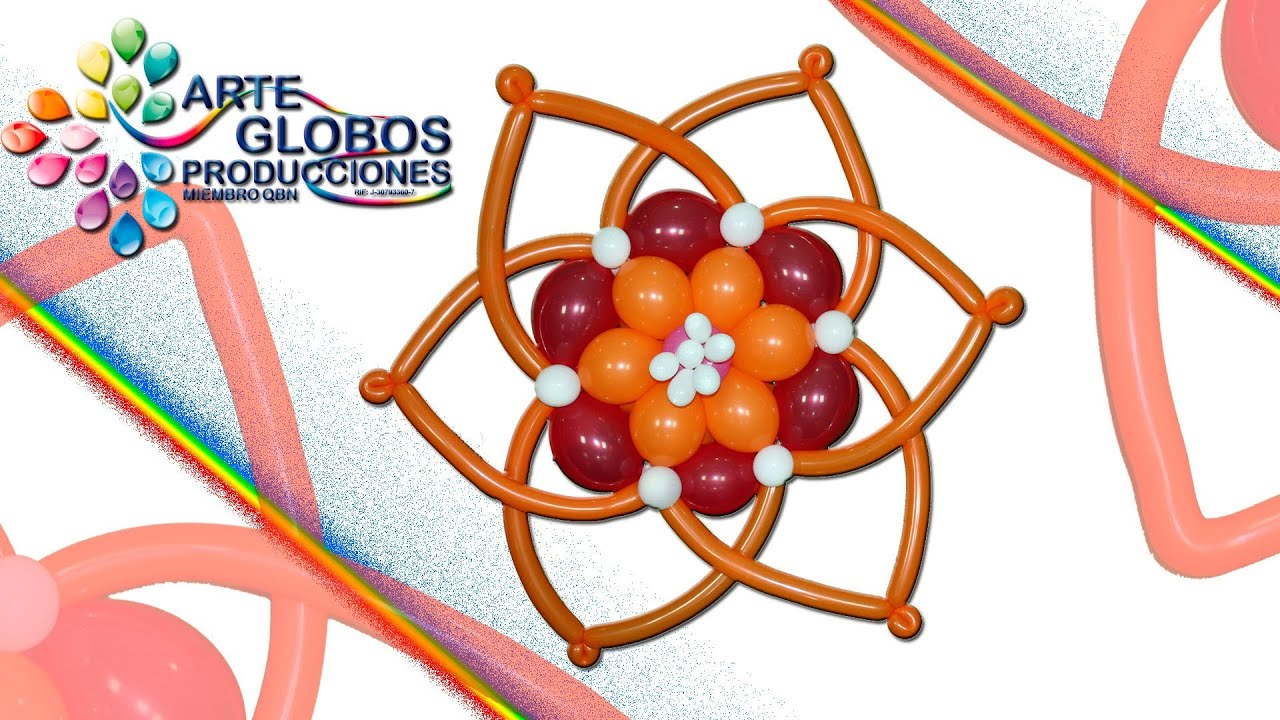 Flor Valentina / Flower Valentina, ideal para bodas y eventos infantiles