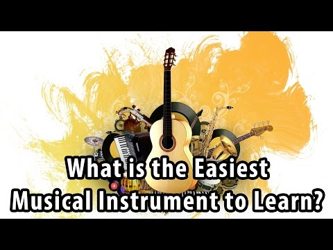 What is the Easiest Musical Instrument to Learn?