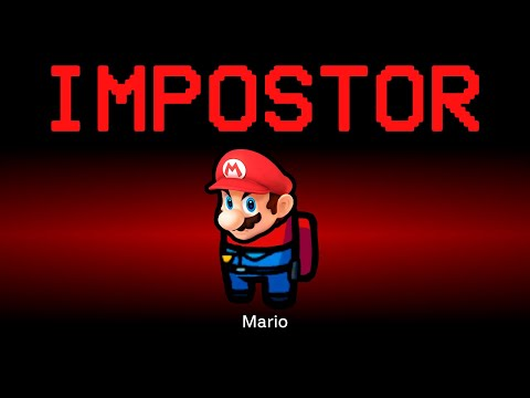 Among Us but Super Mario is the Impostor