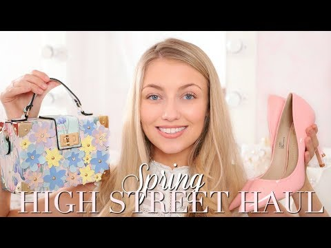 SPRING HIGH STREET HAUL ~ RIVER ISLAND, MISS SELFRIDGE, MANGO, ALDO ~ Freddy My Love