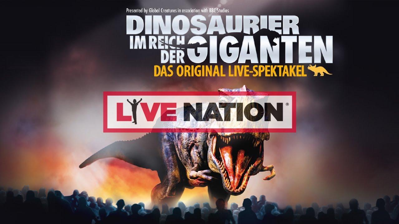 Dinosaurier Im Reich Der Giganten Tickets Dinosaurier Im Reich