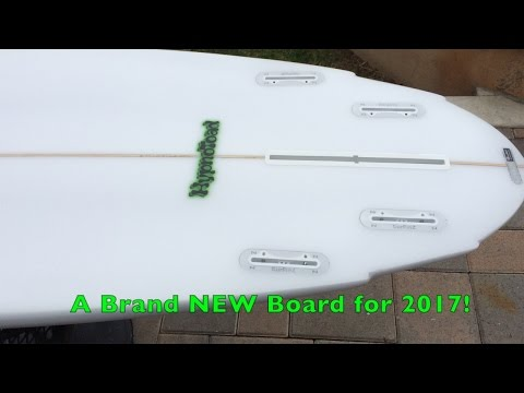 NEW Board for 2017 – The HYPNOTOAD – The most versatile HP Shortboard in existence GUARANTEED!