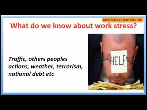 Managing stress in the workplace * Circle of control