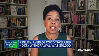 Average Covid-19-related 401(k) withdrawal was $10,000: Fidelity